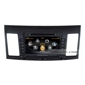 Head Unit DVD GPS Radio Replacement for 2010 2011 Mitsubishi Lancer with BT E-Book 20 Disk Virtual CD Changer Support HD LCD Monitor 3G WiFi-1