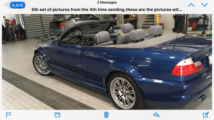 Awesome Great 2002 BMW M3 Leather Beautiful BMW M3 SMG Convertible 2017/2018