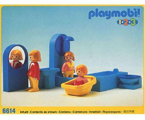 Bathroom Set 6614 By Playmobil. $19.99. Item Theme 6614 123 Bathroom  Badezimmer Released;