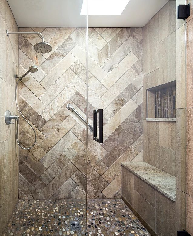 Best 25 Stone Shower Ideas On Pinterest Log Cabin Bathrooms Rustic Shower And Rustic Bath