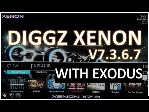 Diggz Xenon v7 3 6 7 Update, Customize Weather, Add Exodus