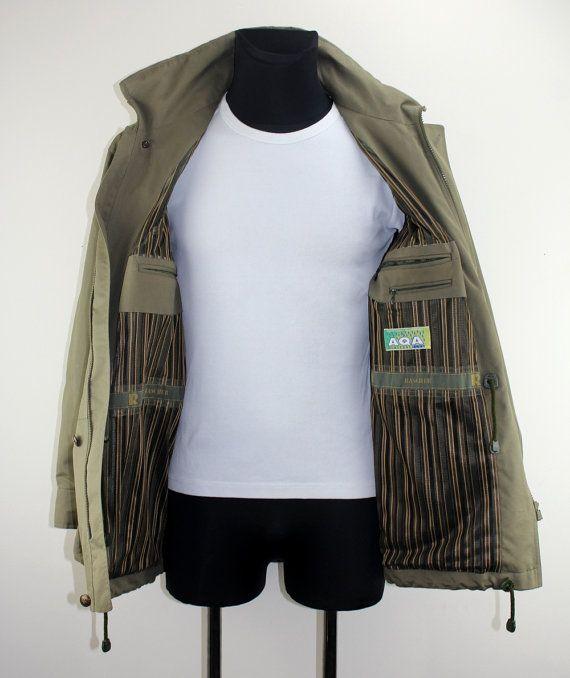 Vintage Green Jacket Second Hand Fashion Angel Hunting Jacket Trekking Jacket Clothes Mens Fashion Jackets Unisex Clothing Accessories 78