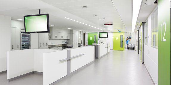 212 best farbgestaltung krankenhaus images on pinterest. Black Bedroom Furniture Sets. Home Design Ideas