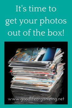 DIY Organizing Guide for your print photos designed by a certified personal photo organizer | GoodLifeOrganizing