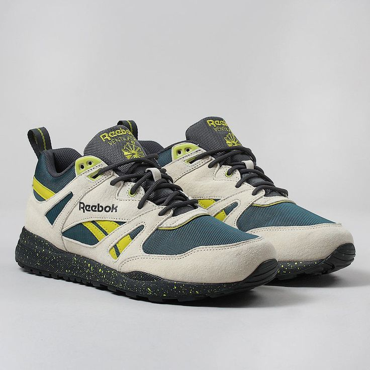 Reebok Ventilator EXP Shoes - Paper White/Deep Teal