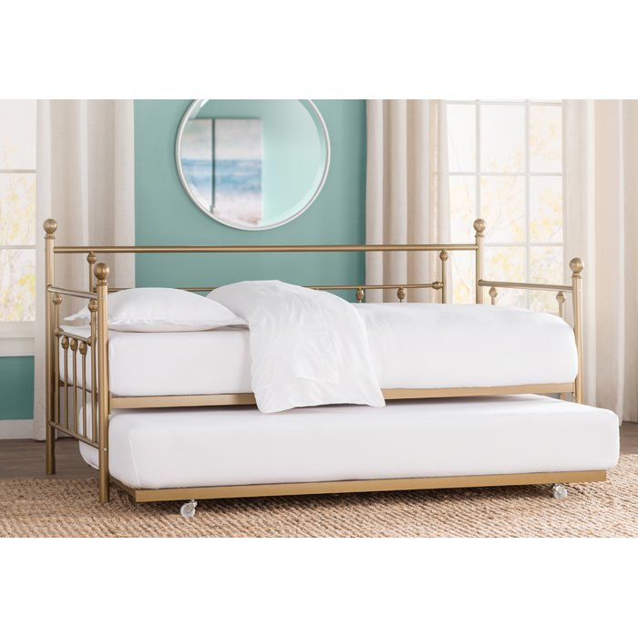 Ione Daybed With Trundle Daybed With Trundle Twin Daybed With Trundle Upholstered Daybed