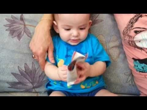 My baby paperboy funny - YouTube