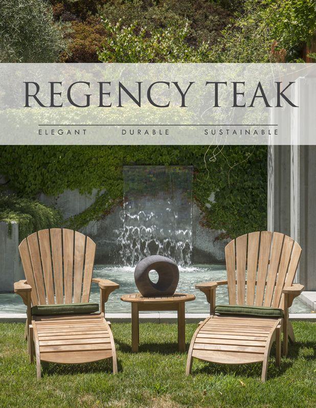 Adirondack Chairs – Teak Adirondack Chair – Adirondack Teak Chairs | Regency Tea - Regency Teak