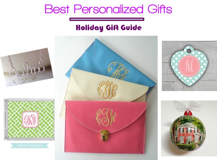 5 Favorite Personalized Gifts For Holidays #Christmas #gifts