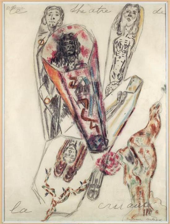 Antonin Artaud. Le théâtre de la cruauté 1946