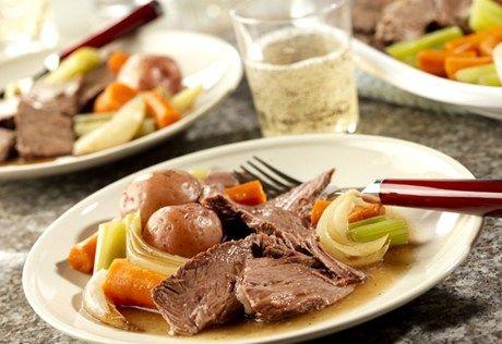 Campbell S Kitchen Crock Pot Recipes Pot Roast