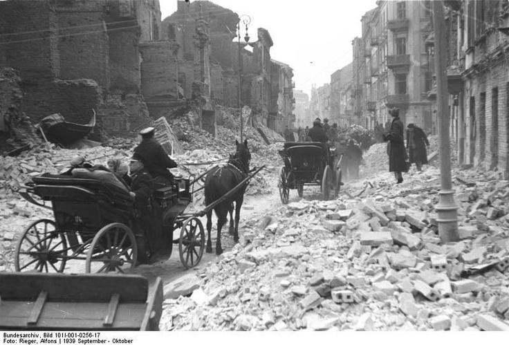Warsaw, Poland during World War II