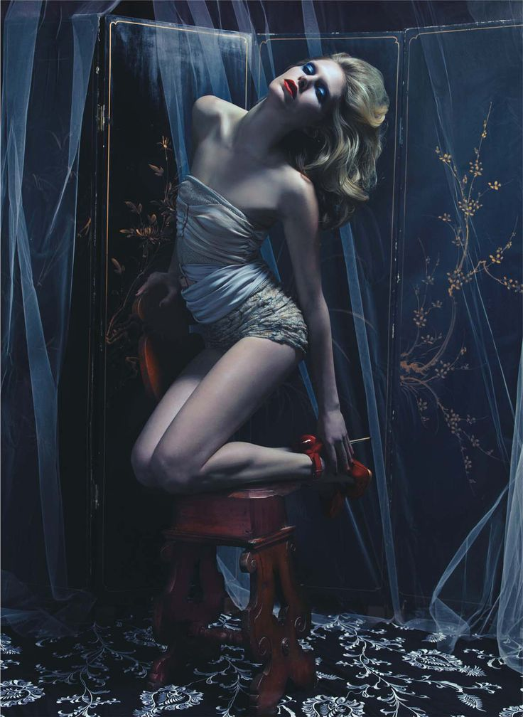 Photograph by Mario Sorrenti; styled by Camilla Nickerson; W Magazine