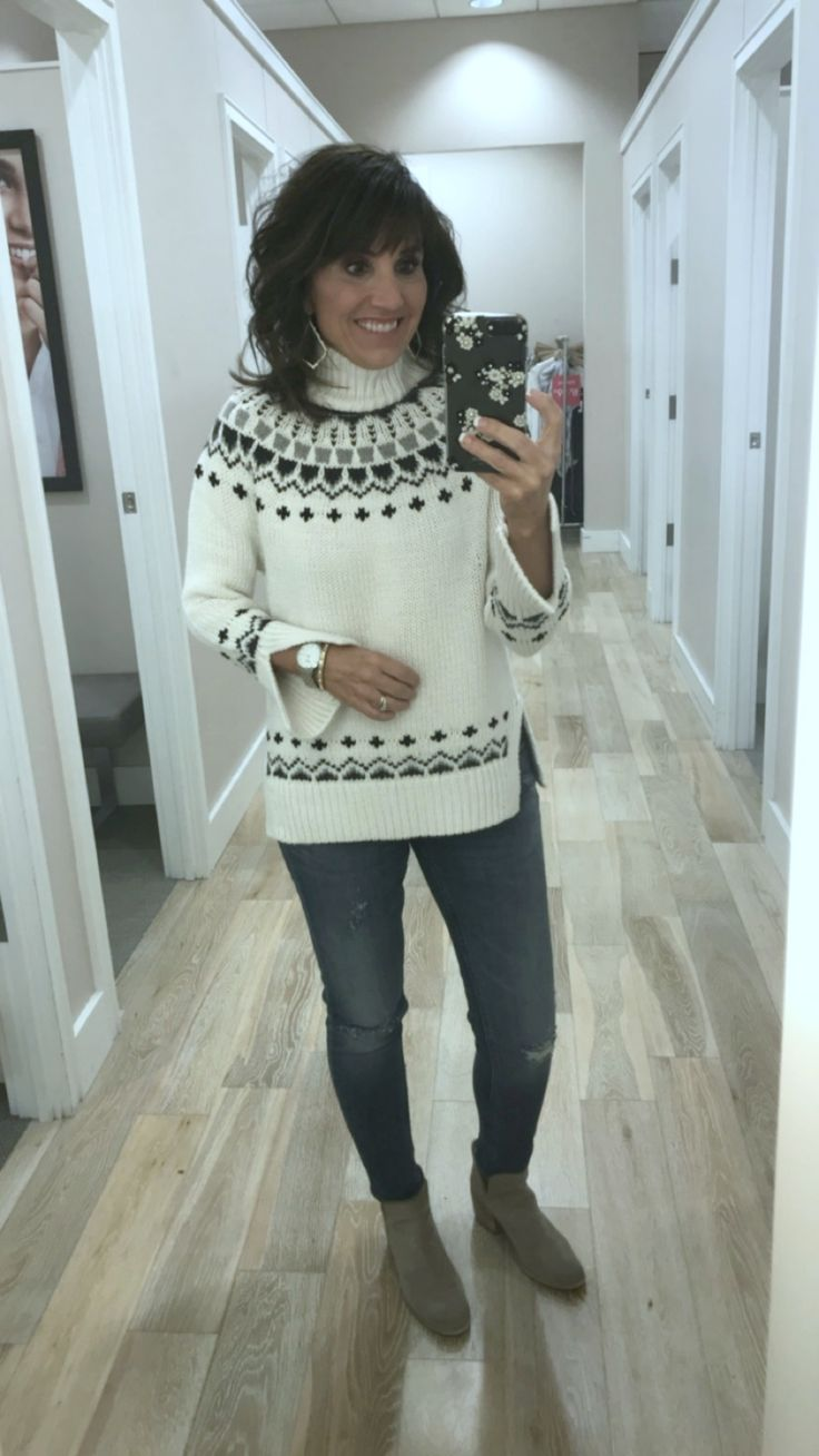 25 Days of Winter Fashion: Fair Isle Sweater