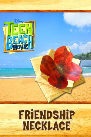 Disney's Teen Beach Movie Free Printables, Recipes and More Friendship Necklace | SKGaleana
