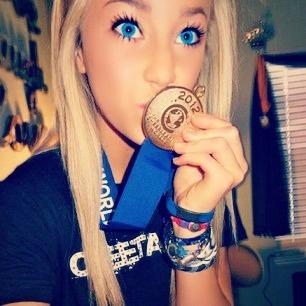 Peyton Mabry, Cheer Athletics from Kythoni's Cheer Athletics: Jamie Andries | Peyton Mabry | Carly Manning board