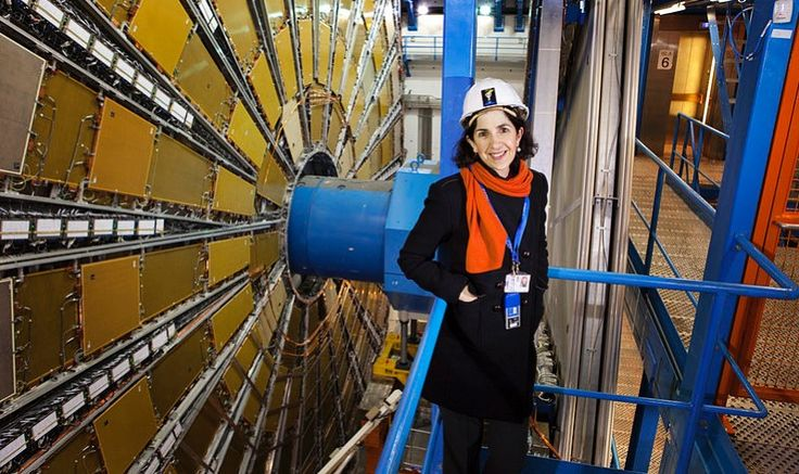 Particle physicist Fabiola Gianotti has become the first woman to head CERN, the organization based in Switzerland that is home to the Large Hadron Collider. Previously, Gianotti headed the ATLAS collaboration, one of two teams responsible for the discovery of the elusive Higgs boson on July 4, 2012.