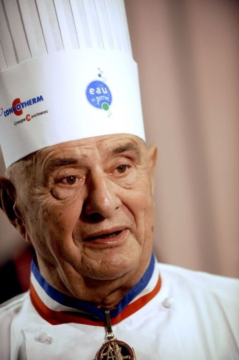 Paul Bocuse, chef du siècle, the chef of the century.