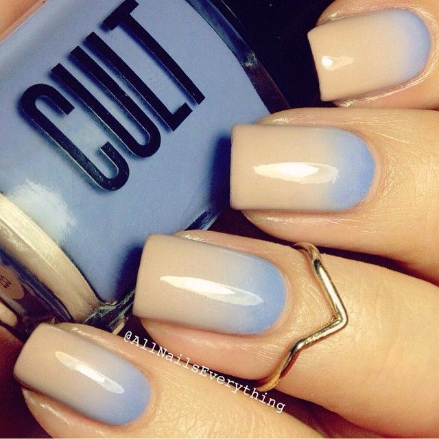 Cult Cosmetics-gradient mani