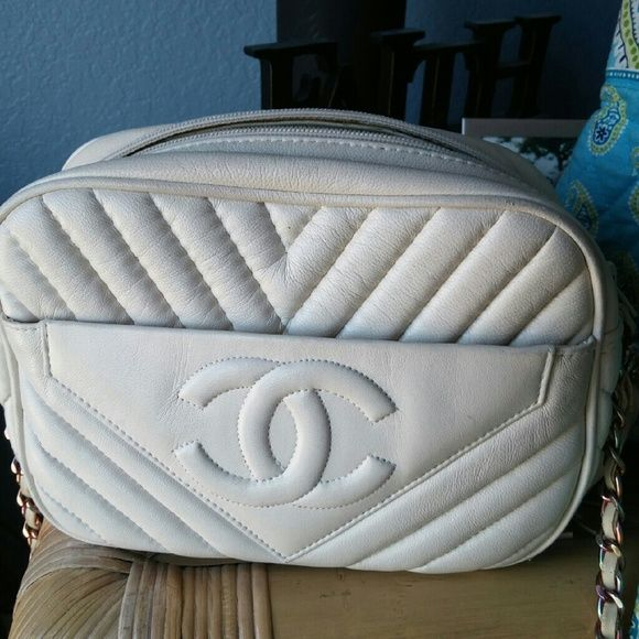 Channel purse Cream Bags Crossbody Bags