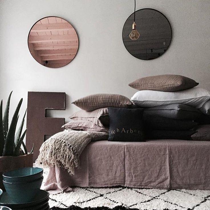 #aytm • Both rose and black colour Circum mirrors  Photo: maudsagency