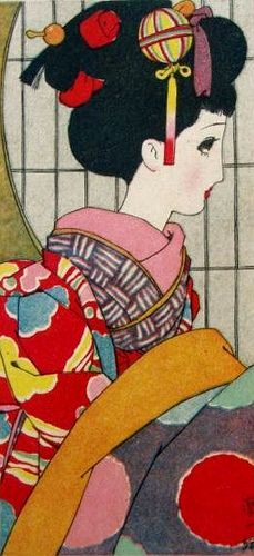 中原淳一 Junichi Nakahara Postcard