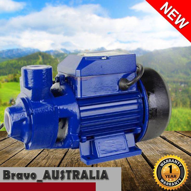 Electric Water Pump Farm Clean Transfer Irrigation Gardening Pool QB60 0.5hp