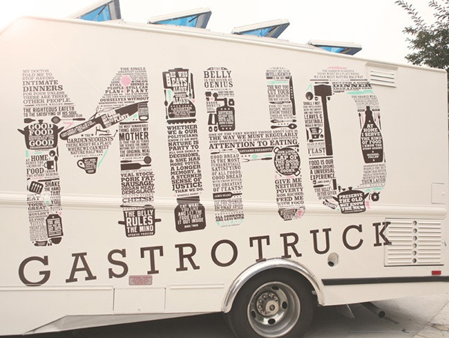 Love this for the catering... MIHO Gastrotruck, based in San Diego!