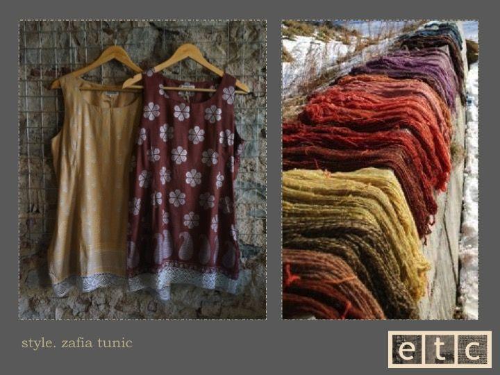 Natural Dyes | Zafia tunic