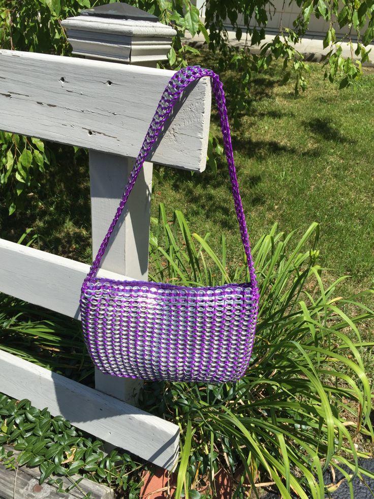 bolso púrpura ficha pop por AngelBugsPartyOfOne en Etsy