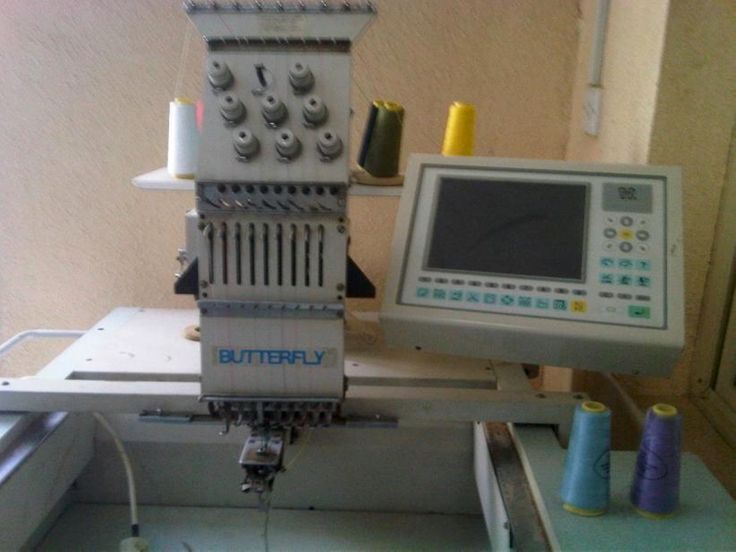 We accept commercial embroidery machines trade in and used embroidery equipment…