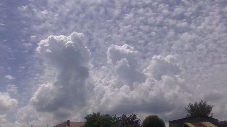 Beautiful cloud formations