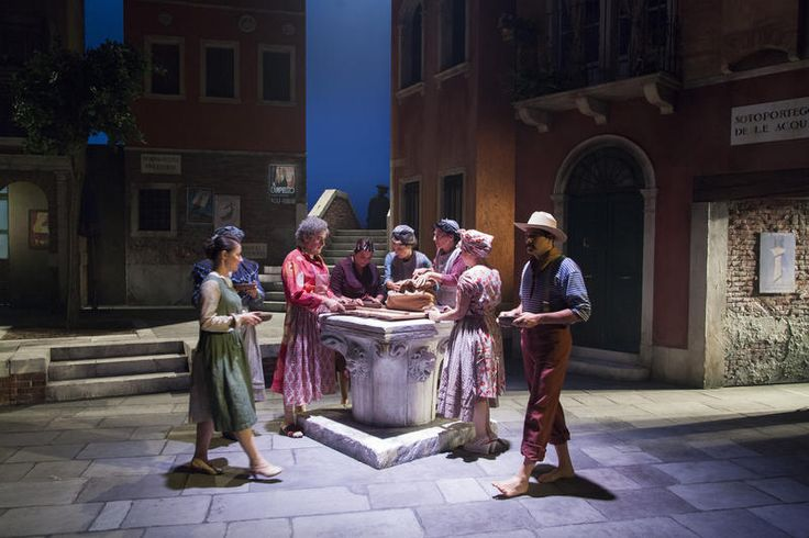 Prove de Il Campiello - II atto