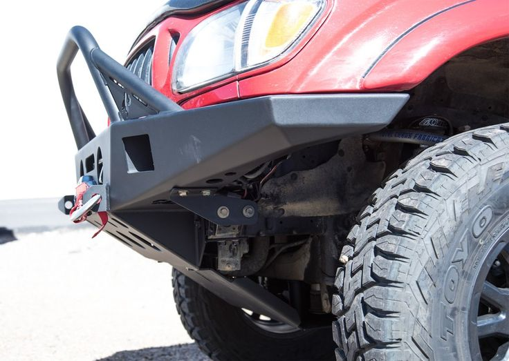 96 04 Tacoma Summit Front Plate Bumper Tacoma Truck Bumpers Bumpers