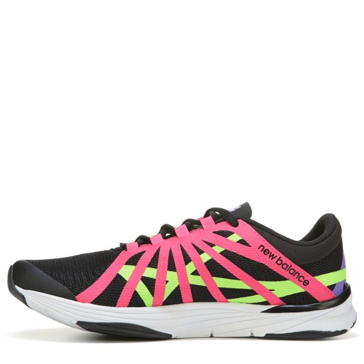 New Balance Women's 811 V2 Medium/Wide High Top Training Shoes (Black/Pink) - 11.0 B