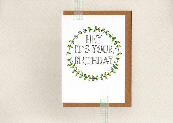 hey it's your birthday card . oz au australia by ThePaisleyFive