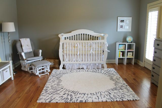 Notes from the Nelsens: Gray & Yellow Nursery- Baby Girl's Nursery Reveal