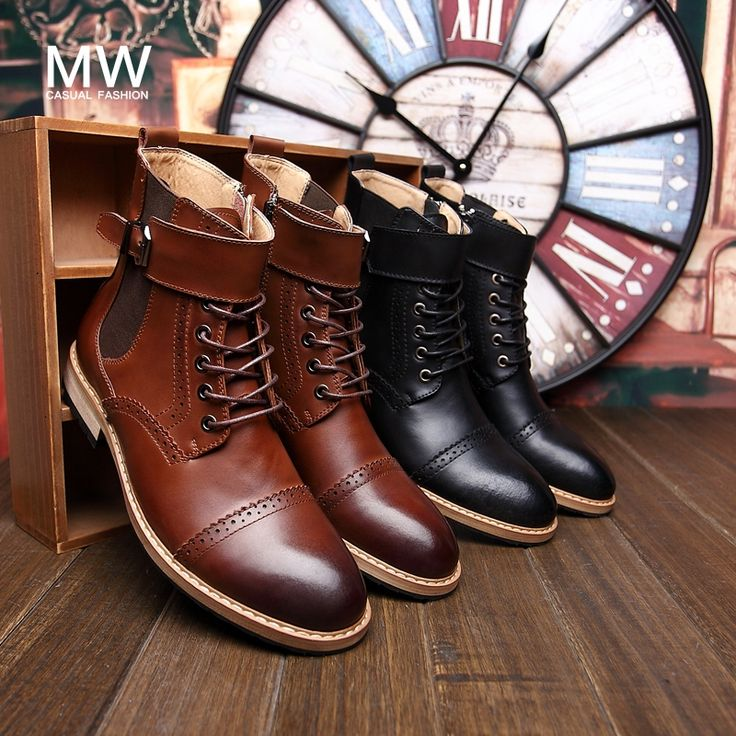 """Cheap Men's Boots on Sale at Bargain Price, Buy Quality shoes hockey, shoe carnival boots, shoes for short men from China shoes hockey Suppliers at Aliexpress.com:1,Heel Height:Low (3/4"""" to 1 1/2"""") 2,With Platforms:Yes 3,Shoe Width:Narrow(AA,N) 4,Season:Spring/Autumn 5,is_handmade:Yes"""
