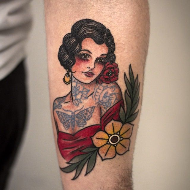 1337tattoos:  Kristi Walls