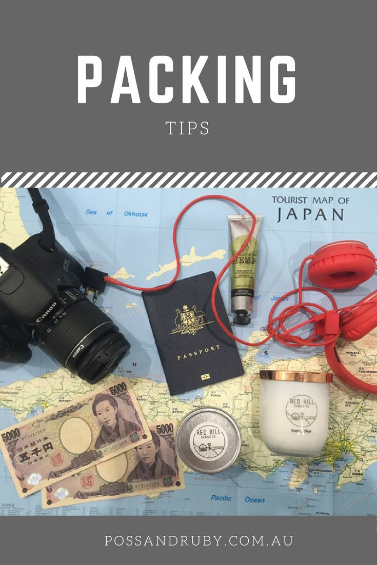Always have trouble deciding on the right things to pack? Check out these tips to help you pack practical and light.