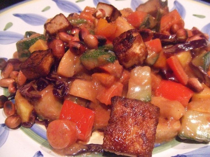 <p>One of the questions I get asked a lot is how I get my tofu so crispy. No, you don't have to deep-fry it to get it that way. You actually don't have to fry the tofu at all though I do love it that way. </p>