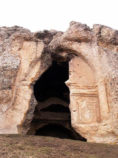 Alanören Mezar Odaları, Alanyut, İscehisar, Afyonkarahisar, Türkiye