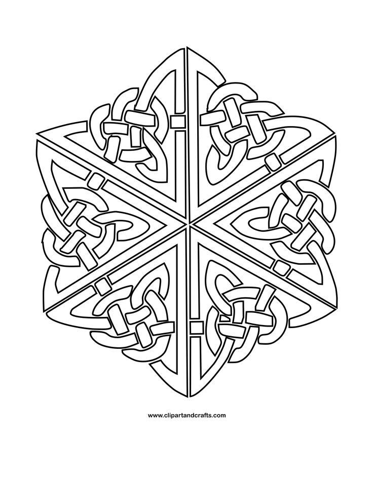 celtic knot mandala coloring page - 73 best mandala coloring images on pinterest mandala