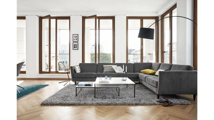 perfekt til en mindre dagligstue - Osaka Sofa fra BoConcept Danmark