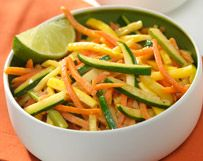Carrots, Zucchini and Yellow Squash in Red Curry Butter | Wisconsin Milk Marketing Board