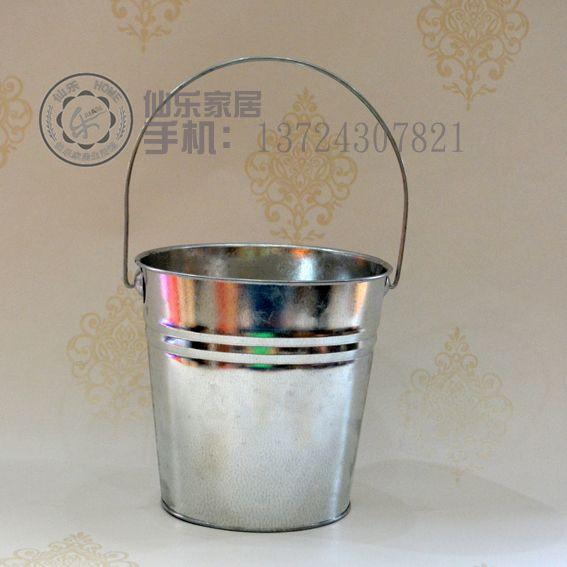 Grande cilindro alça de balde de lixo estanho galvanizado banheira grande flor de metal grosso em Pote para flores de Casa & jardim no AliExpress.com | Alibaba Group