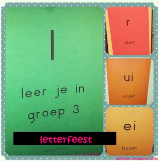 Juf Inger: veilig leren lezen LETTERFEEST