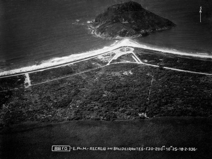 Recreio dos Bandeirantes (1936). Foto Arquivo Museu Aeroespacial Divulgação