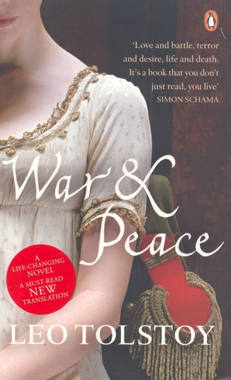 War and Peace (Voyná i mir, 1869) - Leo Tolstoy. Adore the way Tolstoy brings a fair portion of Russian history to life. The way he shapes characters, the descriptions of aristocracy of St. Petersburg and Moscow, and their country estates. Their aspirations, the dissapointments.
