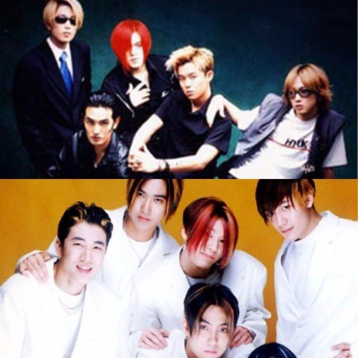 "H.O.T. (High-five Of Teenagers) was a popular five-member South Korean boy band from 1996 to 2001. H.O.T. was the first group to have an album become a ""million seller"" in K-pop, even though there was a financial crisis in South Korea at the time. They are the forerunners of the ""idol group"" trend in the Korean music industry. The Fan-club name is 'Club H.O.T'(White Angels). Their symbol color is white so they wear white raincoat and hold white balloon at the concert.Sechs Kies or 6kies was…"